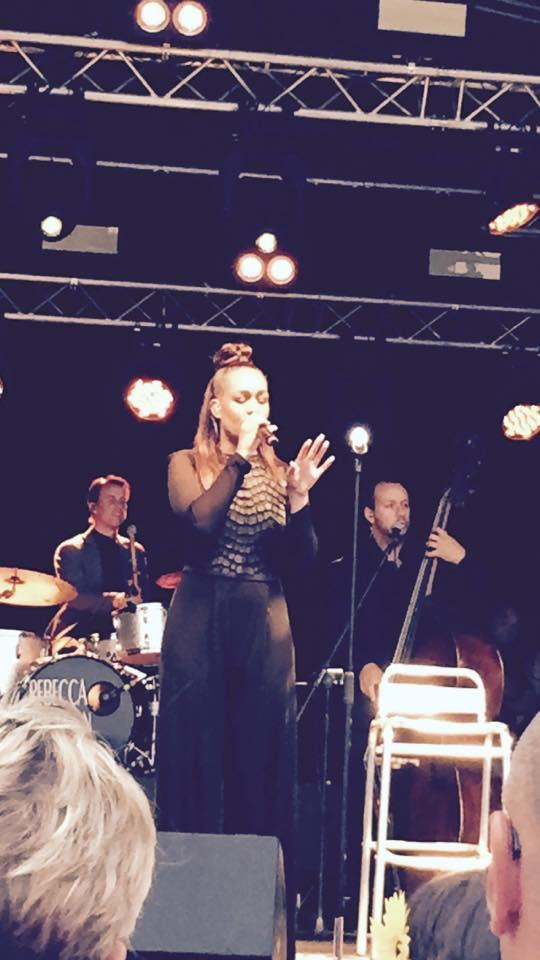 Rebecca on the Brentwood Festival Stage