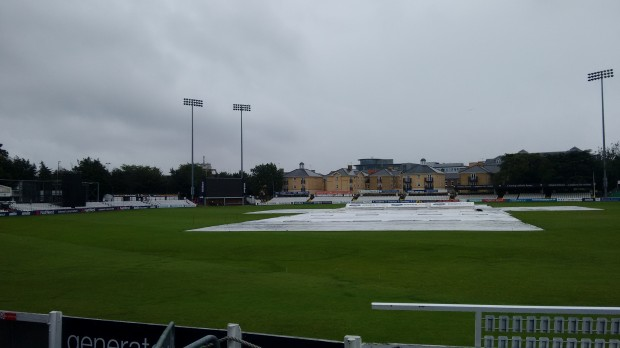 England will hope the rain stays away for the remainder of the series