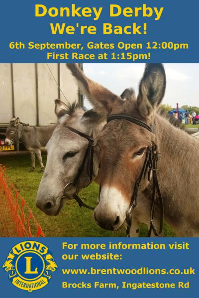Stock Donkey Derby 2015