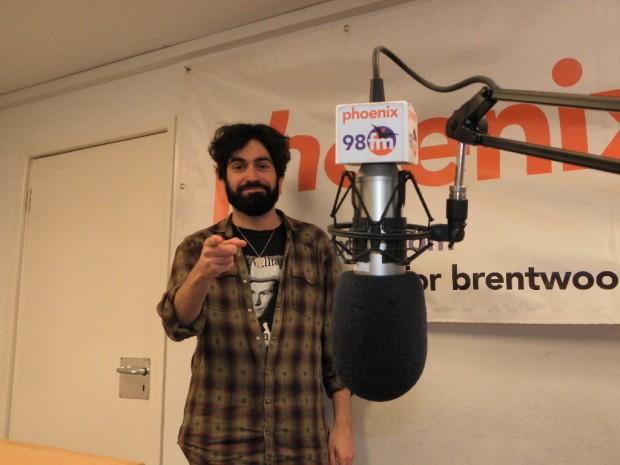 Dave Santos in Studio 1