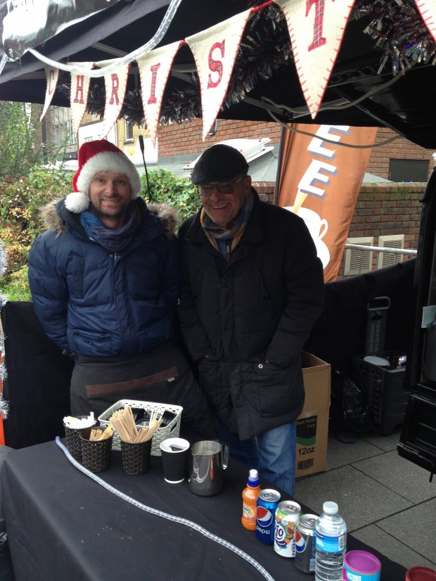 2015-11-28 039c Gareth and Ray Rouse from The Only Way is Coffee (Antonia)