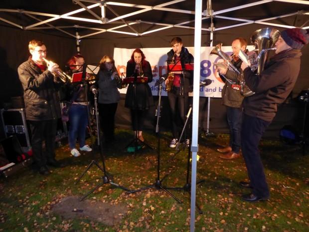 2015-11-29 064 Shenfield High School brass band (Paul)