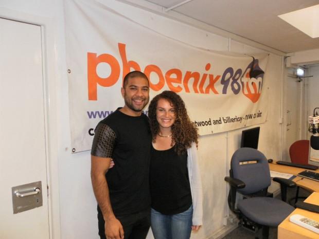 Rajiv and Megan Dallas at phoenix fm