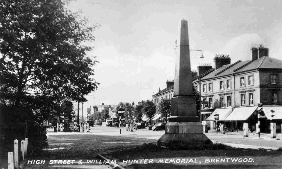 William Hunter memorial