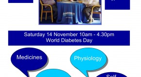 World Diabetes Day Event Saturday 14th November Brentwood