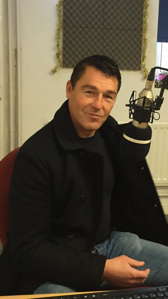 Tony Thompson on the Sunday Lunch Show
