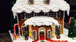 Win A Gingerbread House for Christmas from Onaplate!