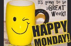 Oh dear it's Monday – again!