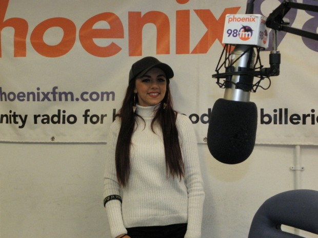 Lydia in Studio 1