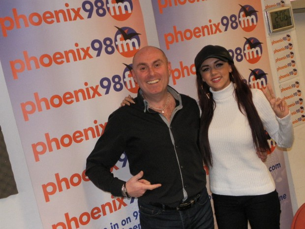 Lydia Lucy at Phoenix FM