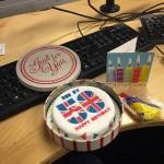 AJ Burpday cake