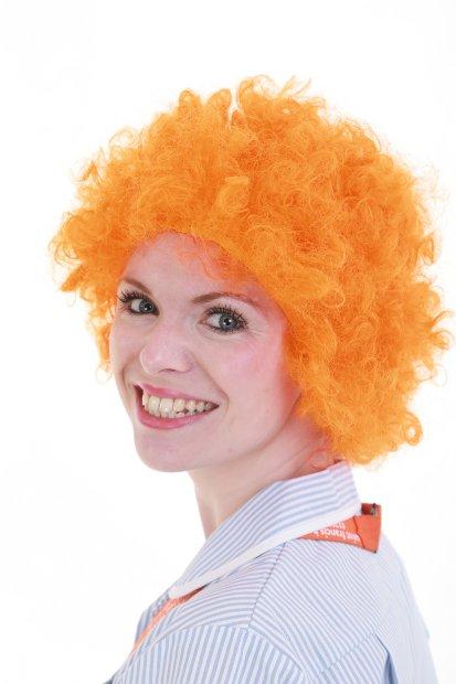 Nurse Aimee Mabbort is going Orange