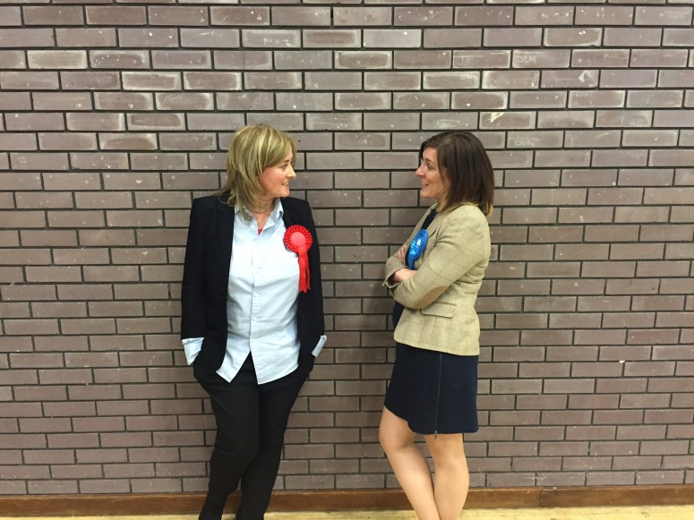 2016-05-05 Julie Morrissey and Catherine Tierney