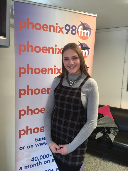 Ellie Lovelace on the Sunday Lunch Show