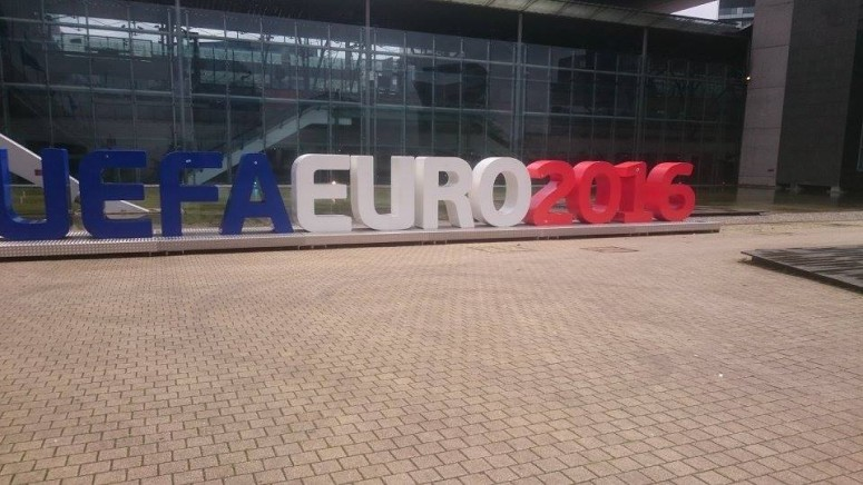Euro 2016 sign