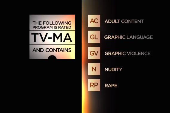 TV content warning