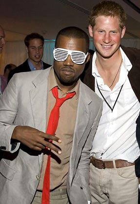 kayne and prince harry