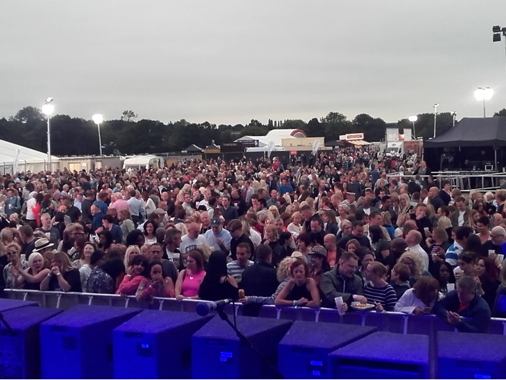 2016-07-15 Brentwood Festival - Antonia 02 - crowd