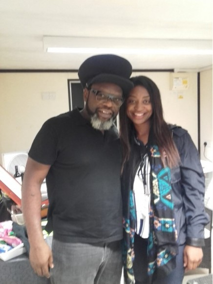 2016-07-15 Brentwood Festival - Antonia 08 - Antonia and Jazzie B
