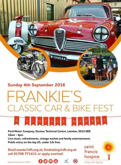 Frankies classic car and bike fest 2016