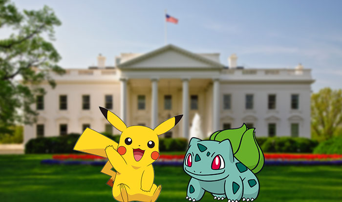 Pokemon Go at the White House