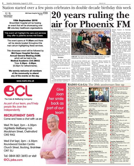 2016-08-31 Brentwood Gazette (20 years)