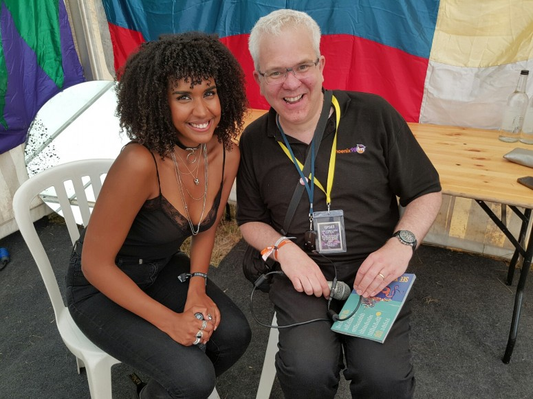 Steve Robertson with Lea Lea