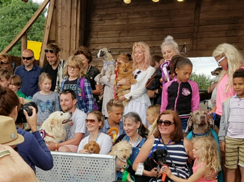 Standon Calling Dog Show Winners