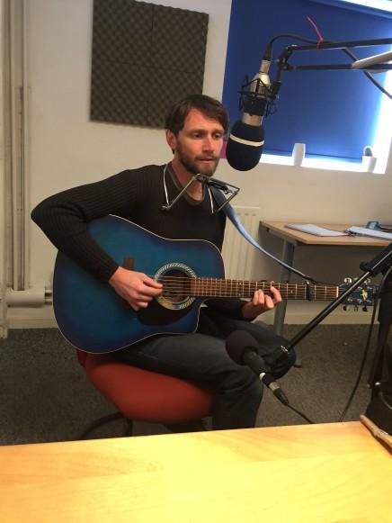 Markus in Studio 1