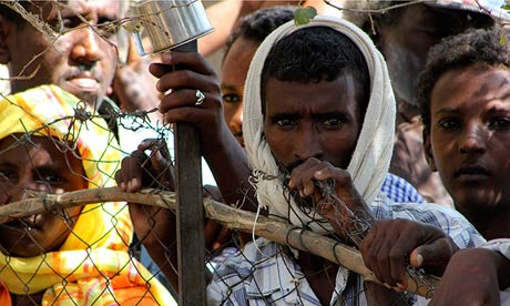 Eritrean Refugees at Shagarab Refugees camp at Kassala