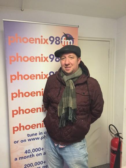 Damian in Studio 1