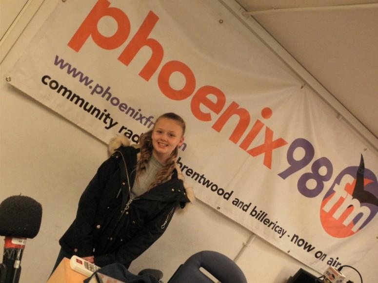Jess Folley in Studio One