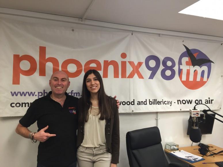Alba on Phoenix 98 fm