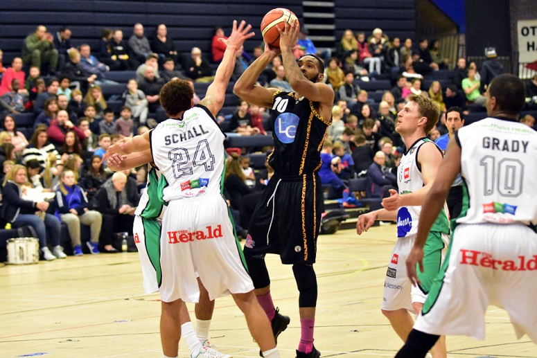Essex Leopards v Plymouth Raiders 22 Jan 2017; Darrell Bethune;
