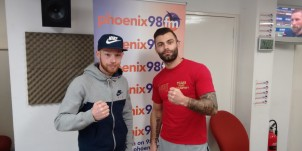 Kyle (left) and Matt (right) fight on 11th and 17th March respectively