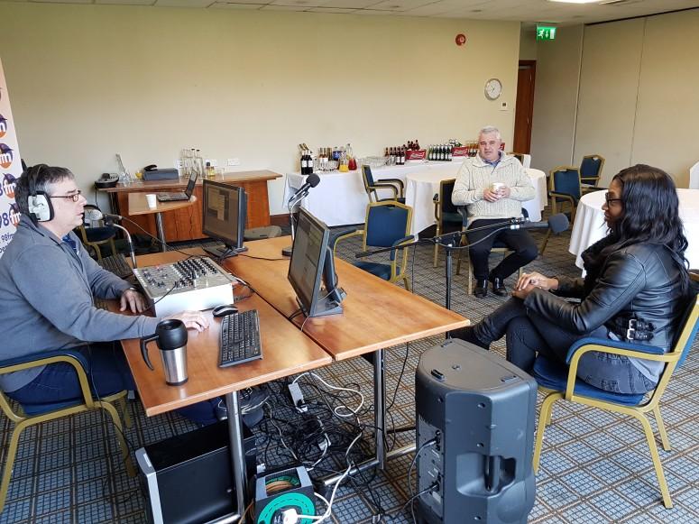 2017-03-25 005 Mike Porter, Nigel Fitzmaurice and Antonia Jones