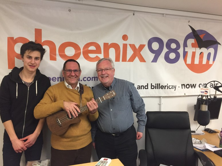 Tom Page Phoenix98FM 24 March 17