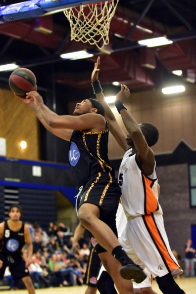 Essex Leopards v Leicester Warriors 12 Mar 2017; Caleb Tabenar