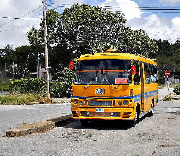 Barbados minibus