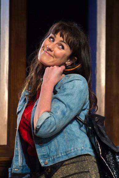 Danielle Flett as Rita - Educating Rita - Queen's Theatre Hornchurch