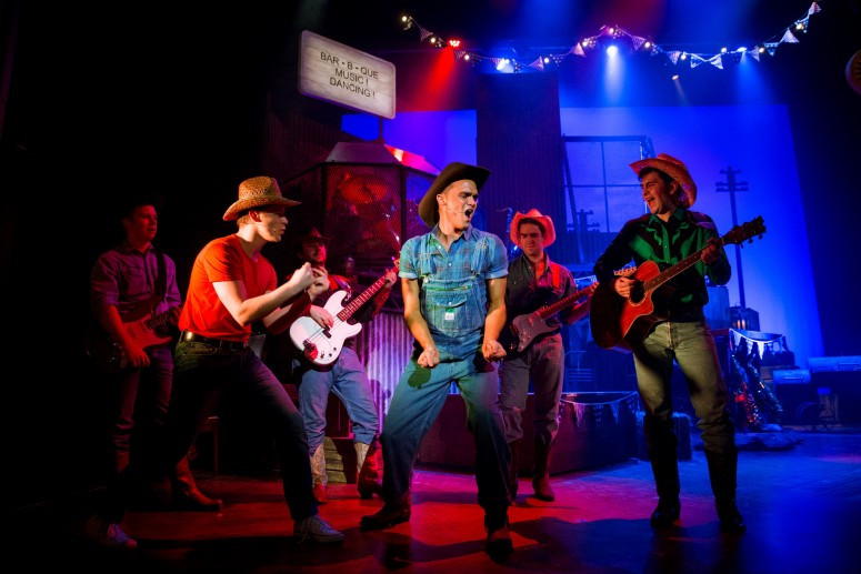 Gareth Gates as Willard in Footloose. Photo Credit Matt Martin (2)