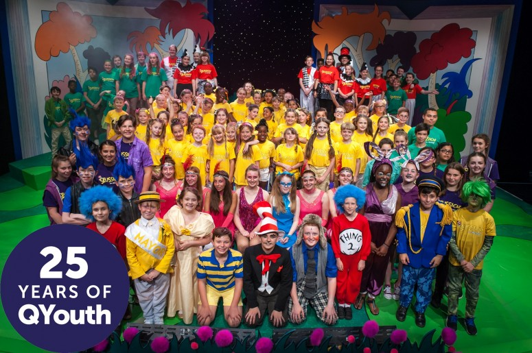 Seussical 2015 Qyouth 25 years - Queen's Theatre Hornchurch