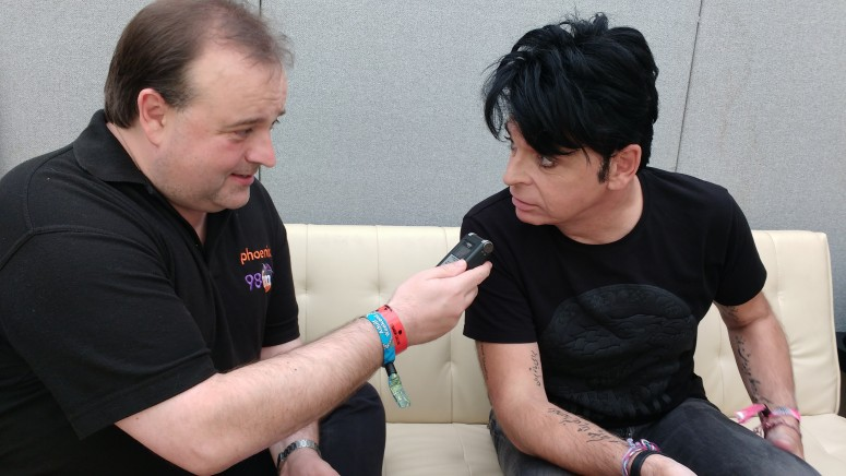 Gary Numan with Paul Golder