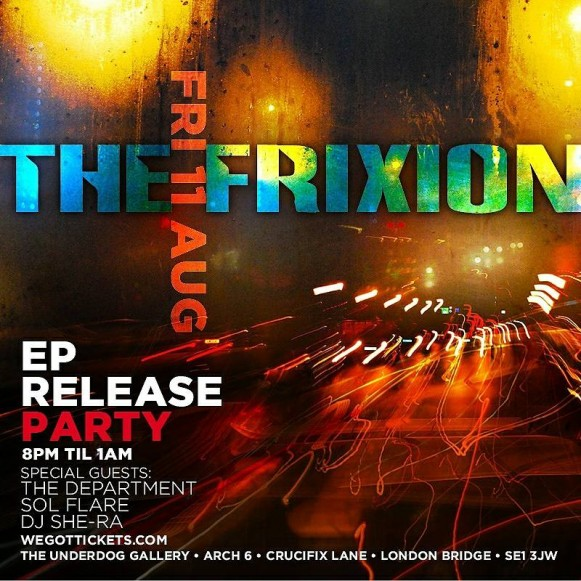 The Frixion EP Launch