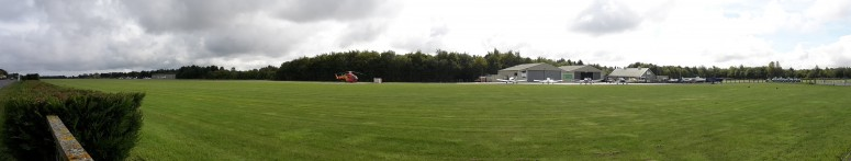Earls Colne Airfield - panoramic view