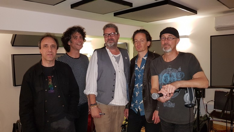 2017-09-27 11 Gong with Michael Parker from Studio 6 Music