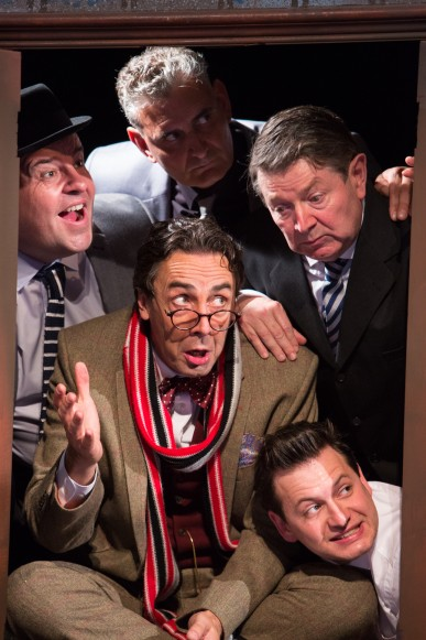 Clockwise from left - Damian Williams, Anthony Dunn, Graham Seed, Sam Lupton and Steven Elliot (centre).