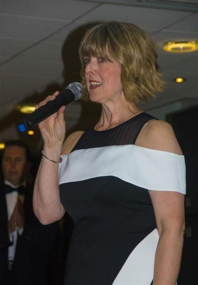 Anne Brown in full flow