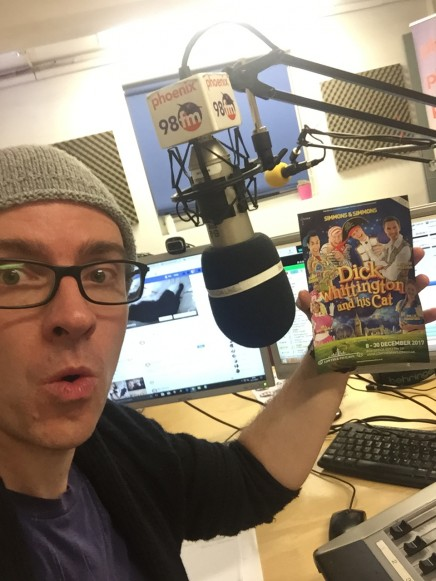 Ben is not going to be on the air for 5 weeks - he'll be doing this instead!
