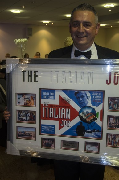 Mike with The Italian Job